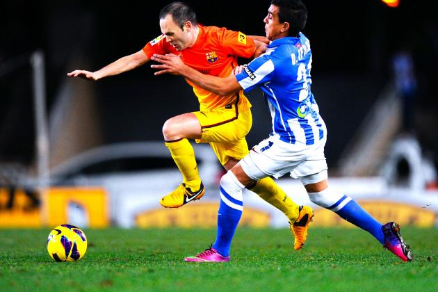 Real Sociedad vs. Barcelona: Basques Hand Barcelona First League Loss of Season