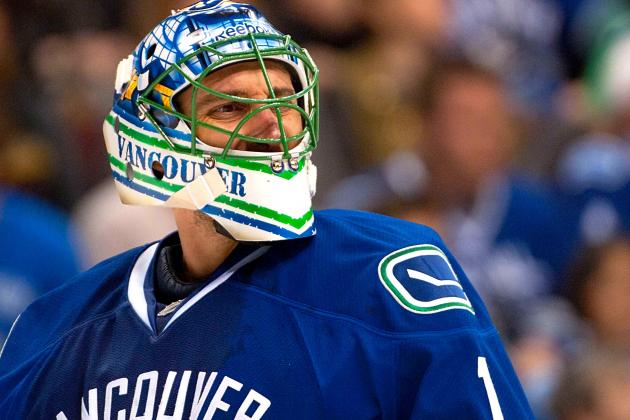 Roberto Luongo Benched for Vancouver Canucks' Season Opener