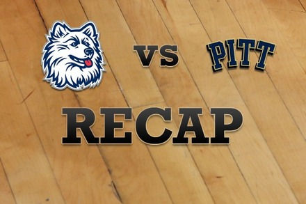 Connecticut vs. Pittsburgh: Recap and Stats