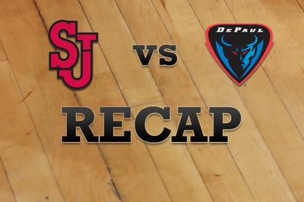 St John's vs. DePaul: Recap and Stats