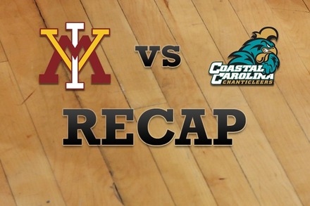 Virginia Military vs. Coastal Carolina: Recap and Stats