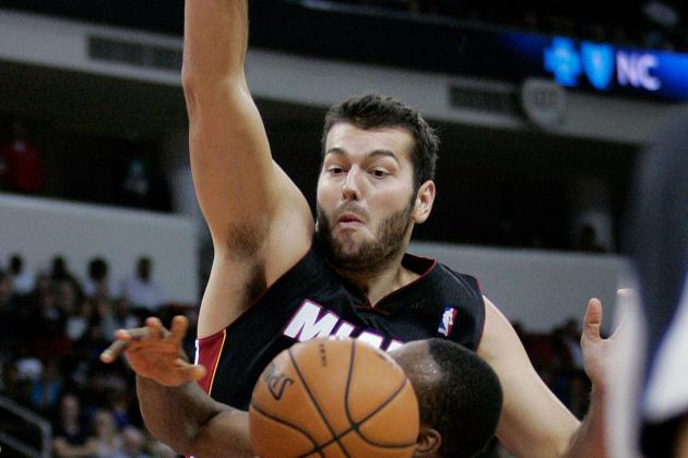 Heat Won't Bring Back Josh Harrellson
