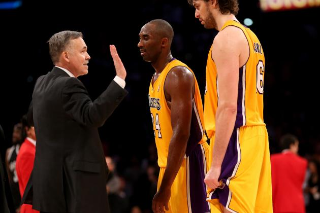 The L.A. Lakers Should Bench Mike D'Antoni Instead of Pau Gasol