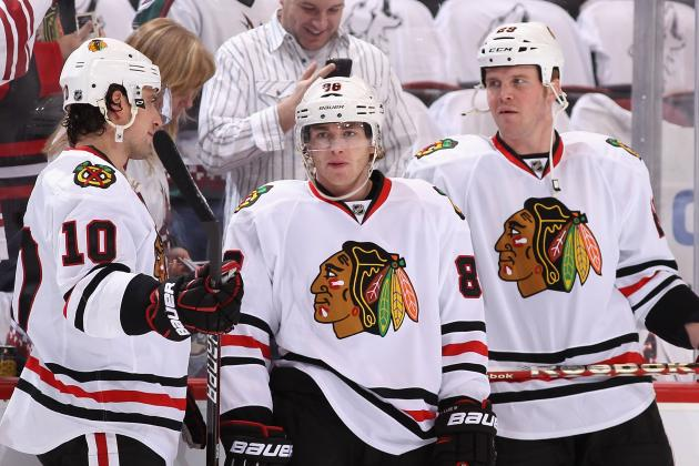 Video: Patrick Kane Scores This Season's First Goal