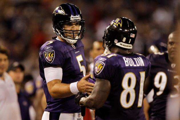 Joe Flacco Makes 'candy' Throws for Baltimore Ravens