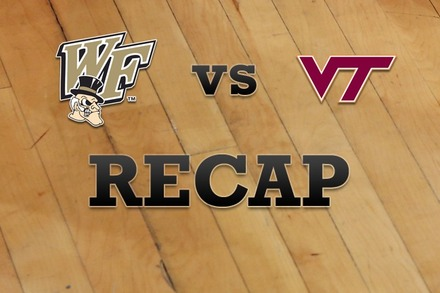 Wake Forest vs. Virginia Tech: Recap and Stats