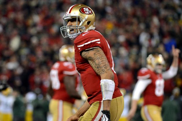 49ers' Colin Kaepernick Knows When to Fake