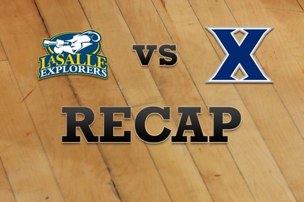 La Salle vs. Xavier: Recap and Stats