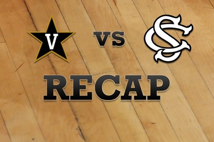 Vanderbilt vs. South Carolina: Recap and Stats