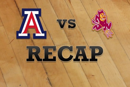 Arizona vs. Arizona State: Recap and Stats