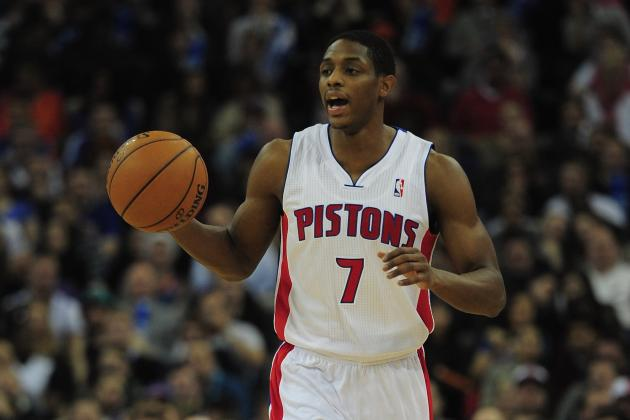 Pistons PG Brandon Knight's Roller Coaster Play Continues in London