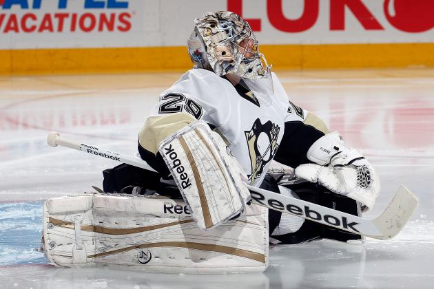 Fleury Sets Franchise Record for Wins by a Goalie