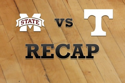 Mississippi State vs. Tennessee: Recap and Stats