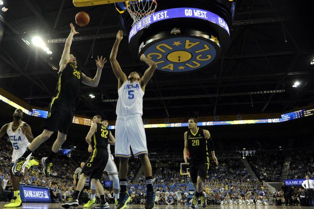 UCLA Basketball Crumbles Late, Oregon Ducks Win, 76-67
