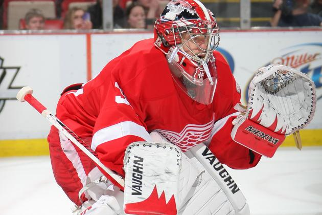 NHL Gamecast: Red Wings vs. Blues