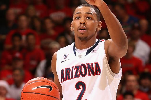 Mark Lyons Leads Arizona Basketball over ASU in Tempe