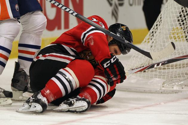 Blackhawks' Carcillo Injured in First Game Back