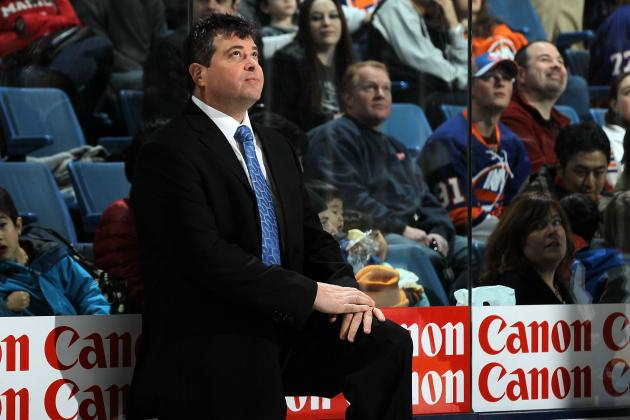 Isles Coach Capuano out Due to Medical Reason