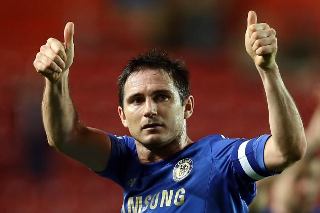 Unwanted Chelsea Midfielder Frank Lampard in Talks with AC Milan
