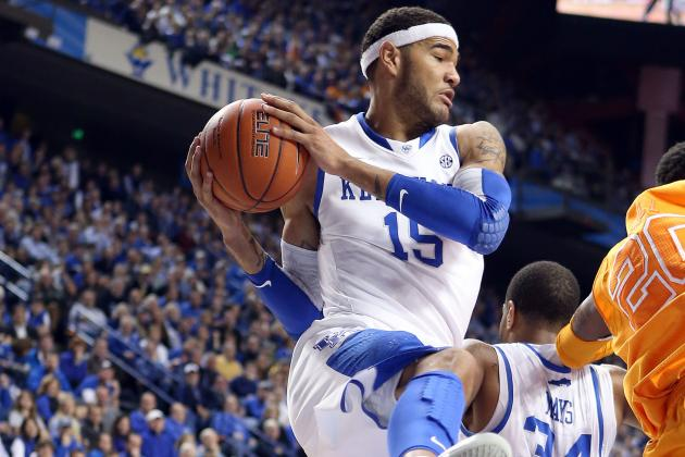 Kentucky's Cauley-Stein Not on Auburn Trip