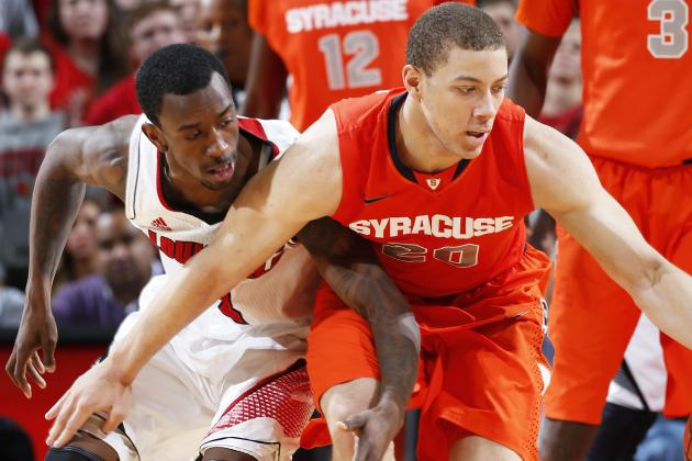 Late Louisville Turnover Opens Door for Syracuse Win, 70: 68