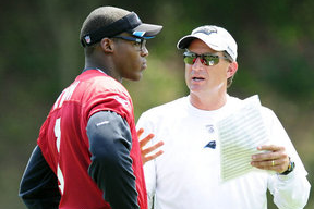 Cam Newton Is Key in Mike Shula''s Promotion