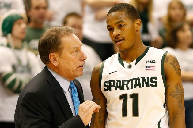 Michigan State Knocks off OSU 59-56 to Pick Up Key Big Ten Victory at Home