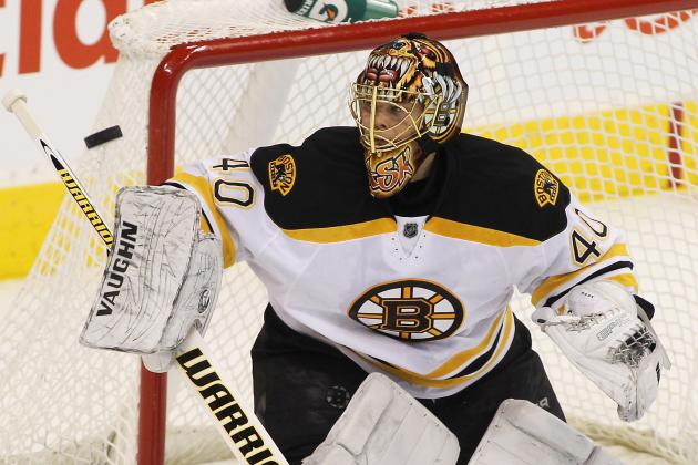 Bruins Stop Rangers Behind Rask's 20 Saves