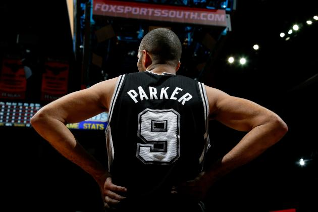 Parker Paces Spurs Past Hawks