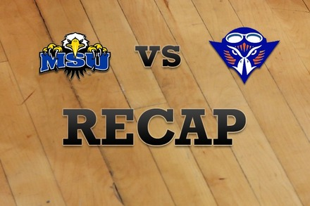 Morehead State vs. Tennessee-Martin: Recap and Stats