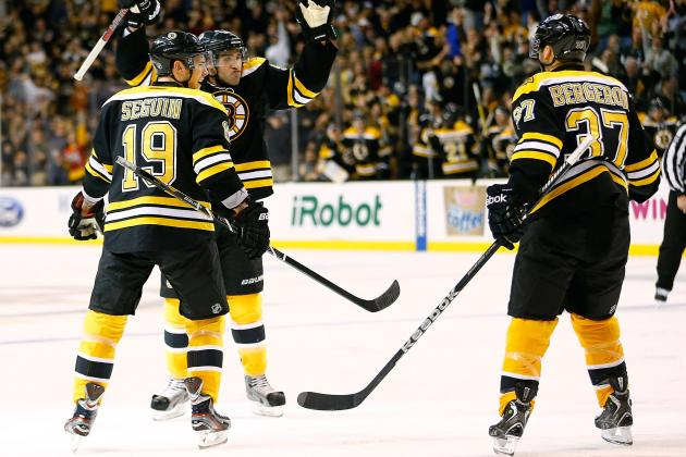 Black and Gold Are Back: Bruins Win Season/Home Opener over Rangers