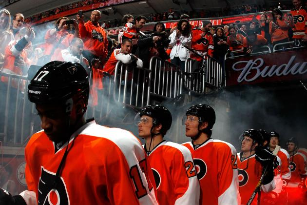 Philadelphia Flyers: Flyers Fall Short in Opening Day Game, Show Promise