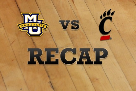 Marquette vs. Cincinnati: Recap and Stats