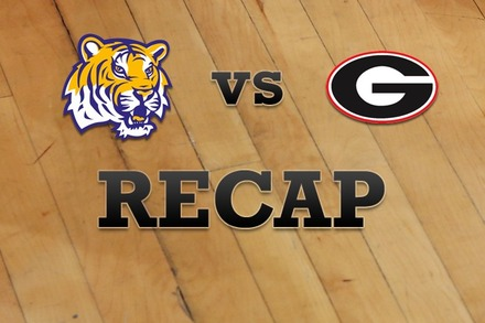 LSU vs. Georgia: Recap and Stats