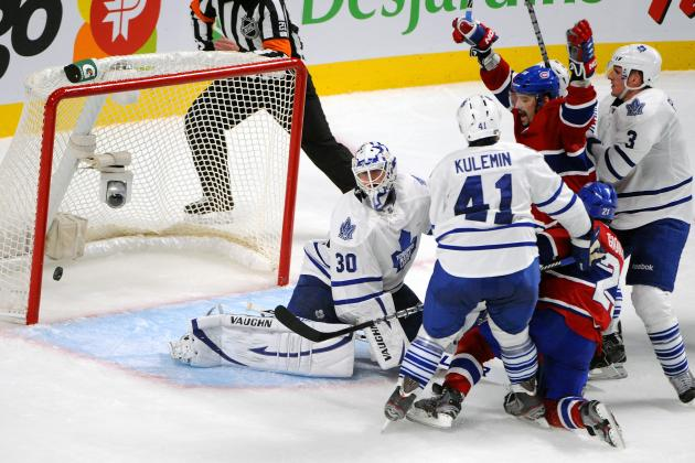 Toronto Maple Leafs beat Montreal Canadiens in NHL opener