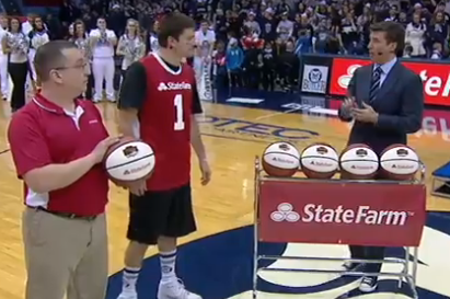 Butler Student Wins $18,000 with a Confident Half-Court Shot
