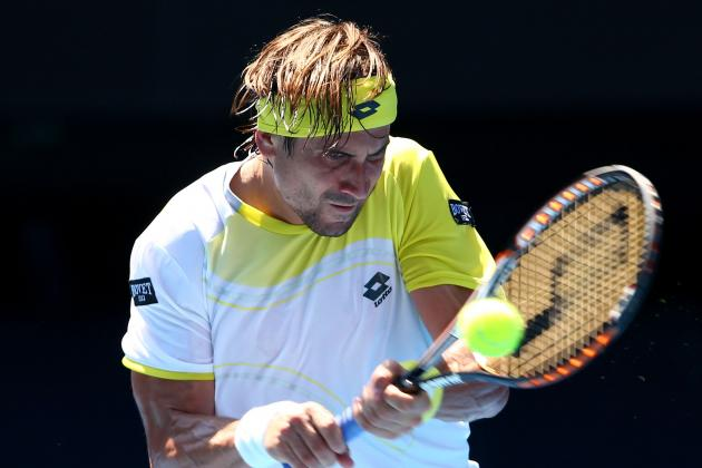 Ferrer Tops Nishikori, Reaches Aussie Quarters