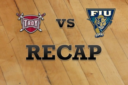 Troy vs. FL Internationial: Recap and Stats