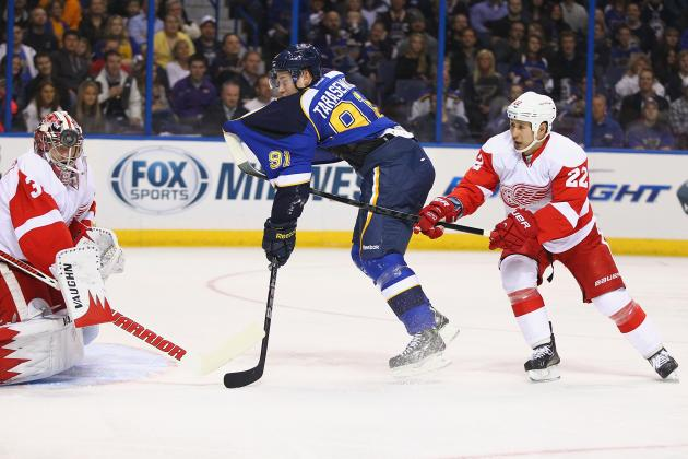 St. Louis 6, Detroit 0: Red Wings blown out by Blues in season opener