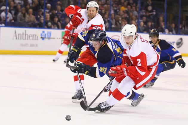 Blues Humiliate Post-Lidstrom Red Wings