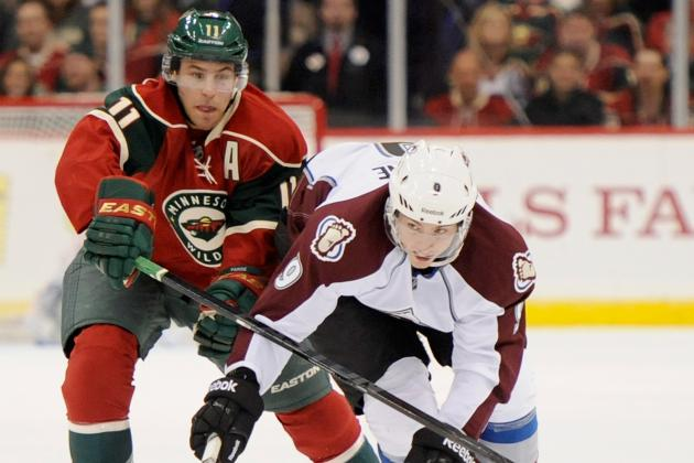 Wild trip up Avs in debut of Parise (two assists)