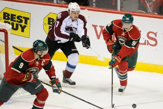 Avs Begin Season with 4-2 Loss to Minnesota Wild