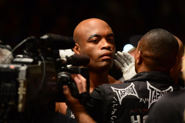 With Michael Bisping Out, Who Will Anderson Silva Face Next?