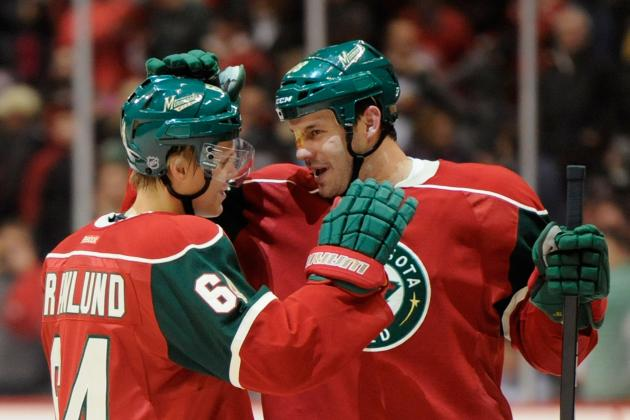 Wild's Top Line Shows Its Shine in 4-2 Opening-Night Victory