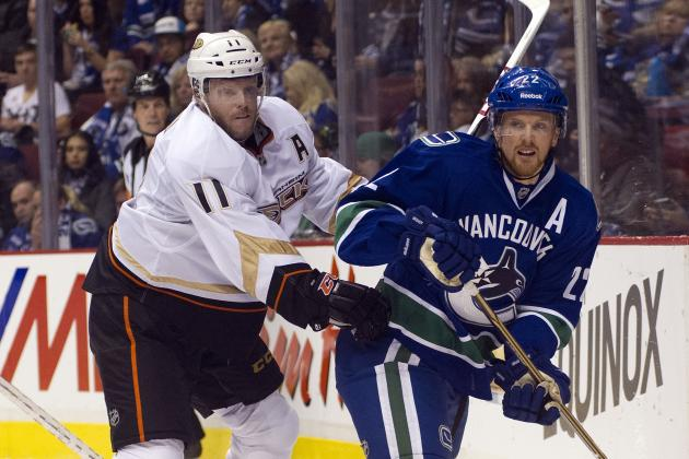 Vancouver Canucks lose opener 7-3 to visiting Anaheim Ducks | NHL