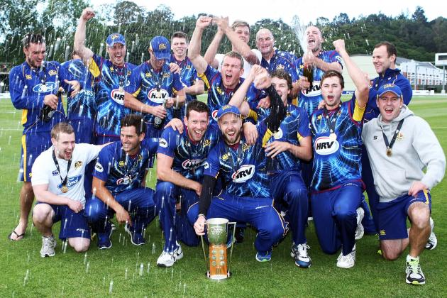 Cricket: Otago Volts Beat Wellington Firebirds to Win HRV Cup