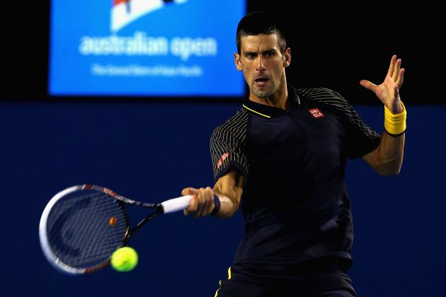 Novak Djokovic Defeats Stanislas Wawrinka to Advance at Australian Open 2013