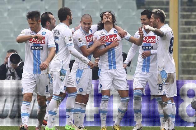 Fiorentina 1-1 Napoli: Cavani Cancels out Roncaglia Goal