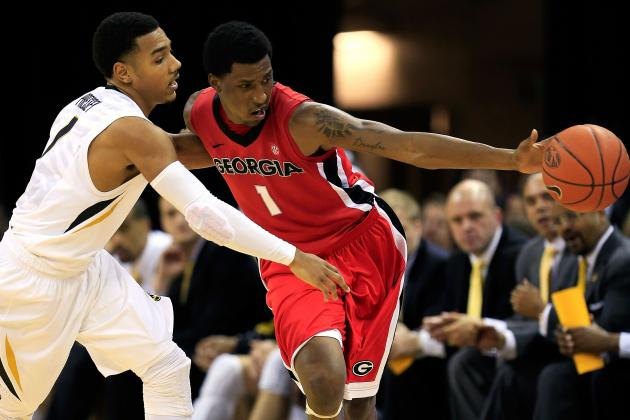 UGA Notches First SEC Win Behind Caldwell-Pope's Performance