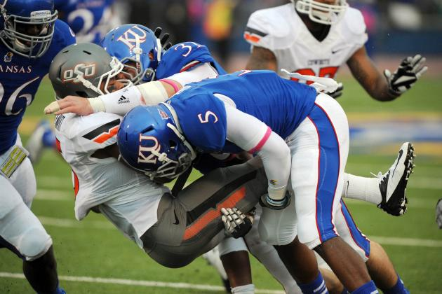 Jayhawks' Leading LB Cited for Misdemeanor Battery